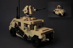 The US Humvee (ruleyourgalaxy) Tags: humvee us truck lego military