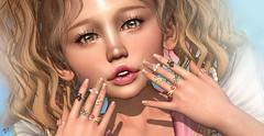 Sakuri (meriluu17) Tags: enfersombre astralia kawaii magical magic sakuri closeup baby babygirl cute portrait people nail nails ring rings sweet
