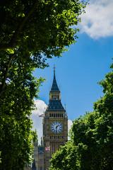 big ben (markbeyer) Tags: big ben united kingdom great britain london 2017 clock day sky