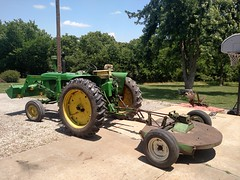 2017-06-10 13.24.25 (neals49) Tags: john deere davis 127 mower gyramor rotary cutter 3010 tractor pull type
