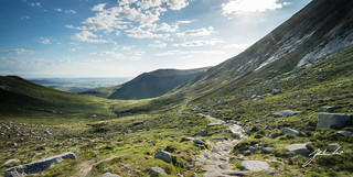 Pollaphuca Saddle, Mourne Mountains. Northern Ireland [Explored]