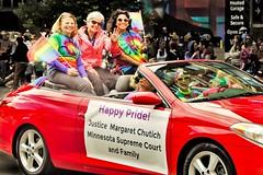 Assoc. Justice Chutich -- Twin Cities Pride June, 2017 (panache2620) Tags: lgbtq twincitiespride2017 gay diversity judge minnesotasupremecourt women family eos canon70d red parade minnesota minneapolis