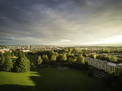 Torshov, Oslo (eriknst) Tags: oslo norway no mavic dji drone flight landscape cityscape city sunset light sky green trees calm whereilive
