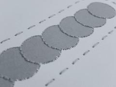 Synchonicity (Landanna) Tags: synchronicity handmade embroidery embroideryonpaper broderi broderipåpapir borduren bordurenoppapier paperart paperwork runningstitch backstitch pinpricking