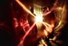 Candélabre - photo de presse 2 (Chris Rod Photo) Tags: flare blur flou psychédélique reflets rayonnements rouge red orange jaune yellow rideaux bâches tarps curtains vent wind contrejour againstthelight band candélabre toulouse chrisrodphoto 2017 ombre dark silhouettes portrait portraiture photodepresse pressphoto coldwave shoegaze katebush