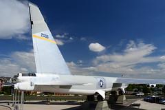 B-52B 52-005 (6) (Ian E. Abbott) Tags: boeingrb52bstratofortress boeingrb52b boeingb52bstratofortress boeingb52stratofortress boeing rb52b b52 stratofortress 52005 520005 coldwaraircraft wingsovertherockiesairspacemuseum wingsovertherockies airmuseum