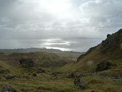 View on the way up Old Man of Storr (angelcottage) Tags: storr old man skye scotland