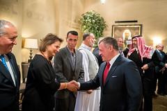 جلالة الملك عبدالله الثاني يلتقي، على مأدبة إفطار، وفدا يضم ممثلين عن أوقاف وكنائس القدس وشخصيات مقدسية (Royal Hashemite Court) Tags: kingabdullahii hmkjo جلالة الملك عبدالله الثاني jordan الأردن royalhashemitecourt rhcjo الديوان الملكي الهاشمي iftar إفطار
