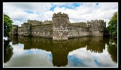 Beaumaris Castle (veggiesosage) Tags: angelsey wales aficionados gx20 beaumaris beaumariscastle castle reflections sigma1020mmf456dc