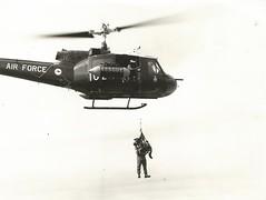 A2-1024 BobTeddyKym (Dulacca.trains) Tags: raaf airforce uh1b bravo huey iroquois helicopter aircraft williamtown bobbatt teddy kymmanuel jeffwatson guarddog policedog australia australian aussie oz