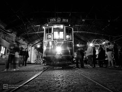 Pace (mauro.tch) Tags: industrial transport tramway tram old ancient steam iron nikon coolpix night museum subway metro black white
