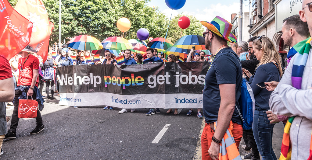 LGBTQ+ PRIDE PARADE 2017 [ON THE WAY FROM STEPHENS GREEN TO SMITHFIELD]-129998