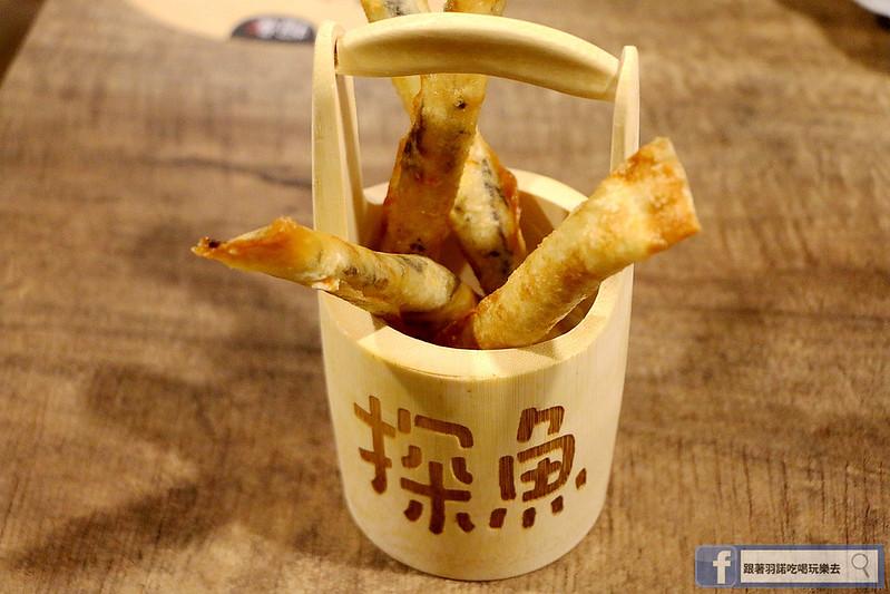 中國大陸人氣烤魚登台探魚台中公益店049