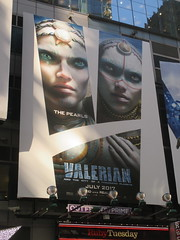 Valerian and the City of a Thousand Planets Billboard Poster 7953 (Brechtbug) Tags: valerian city thousand planets billboard poster times square nyc 2017 french science fiction comics series from 1967 valérian laureline written by pierre christin illustrated jeanclaude mézières film movie directed luc besson new york 06262017