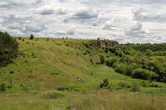 The road to Vorgol (Unicorn.mod) Tags: 2017 summer landsape sky clouds rocks road outdoor samyang35mmf14asumc samyangmf35mmf14edasumcae samyang manual manuallens june vorgol myfocus