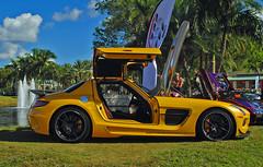 Black Series SLS (Infinity & Beyond Photography) Tags: mercedes benz amg black series sls miami exotic cars