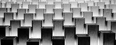 Bjarke Ingels's Serpentine Pavilion part 4 (jbarry5) Tags: bjarkeingels bjarkeingelssserpentinepavilion serpentinepavilion london unitedkingdom abstract geometry blackandwhite monochrome