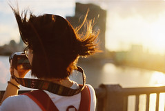 Cho màu đừng nhạt mất... (Wood Oliver) Tags: film 135 canon eos5 50mm18 stm kodak colorplus asa200 sunshine sunset