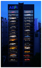 Car vending machine - 1450187 (willfire) Tags: willfire singapore street abm building car super showroom multi storey vending machines bukit merah