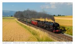 141R 568 - Arnex-sur-Orbe (CC72080) Tags: 141r 568 locomotive vapeur train bls
