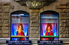 NY Manhattan III (stega60) Tags: newyork manhattan 27thst sartorialcrown colours lights old windows store chelsea stega60