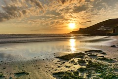 Croyde sunset (leistus) Tags: cokin nuance nd filter