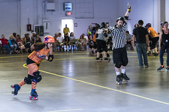WARD vs Loco City (J Blevins) Tags: roller derby ward loco city woodland lodi sports womenssports women indoor