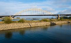 _DSC7632 (durr-architect) Tags: spiegelwaal ruimte room river waal nijmegen netherlands high water flood island bridge nevengeul