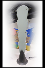atomaria floor lamp 01 1984 mendini a (sm den bosch 2017) (Klaas5) Tags: holland netherlands ©picturebyklaasvermaas exhibition tentoonstelling stedelijkmuseumdenbosch niederlande paysbas nederland design vormgeving thelastavantgarderadicalitaliandesign furniture meubel italy italie industrialdesign 1970s1980sdesign light lamp vloerlamp floorlamp
