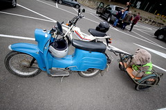 IMG_9317 (Christophe BAY) Tags: mobyltettes francorchamps 2017 rétromobile club spa circuit moto vespa camino flandria