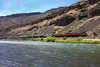 Deschutes River Canyon (ScholzRUNNER) Tags: sp southernpacific southernpacificrailroad espee 4449 sp4449 daylight spdaylight 484 northern landscape railroad railroadphotography excursion trains trainchase tracks
