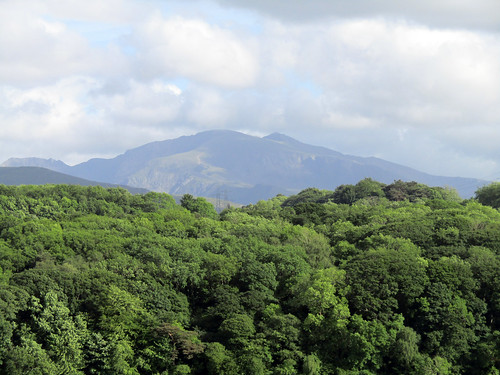 Snowdon from Anglesey, June 2017