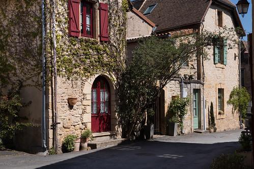 Maisons du bourg à St Léon