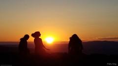 Sunset on the Blue Ridge Parkway-Explored (Patty_King444) Tags: blueridgeparkway sunsetonblueridgeparkway sillhouette sunset mountains virginia