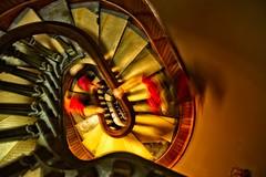 DESCENT (akahawkeyefan) Tags: stairway spiral hands arms iowastatecapitol davemeyer desmoines