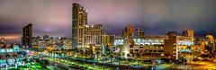 """America's Finest City"" (Manuela Durson) Tags: city scape citylights cityscape downtownsandiego downtown sandiego sandiegoskyline urban night nightskyline nightphotography lights metropolitan panorama petco park"