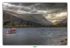 LLYN PADARN (régisa) Tags: snowdonia cymru galles wales padarn llyn lake lac gwynedd moraine llanberis morainedammed