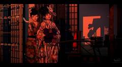 """Festival Sunset"" (Niifreya Resident) Tags: japonica japanese kimono gabriel b0on catwa"