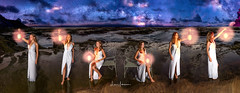 Katie Sakys @ Lanai Lookout 2017 Panorama (JUNEAU BISCUITS) Tags: panorama pano panoramic portrait portraiture hapahaole hapa hapagirl beautiful glamour beauty lanailookout hawaii oahu milkyway astrophotography astronomy stars skyscape nikond810 nikon
