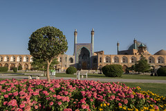 What a lovely place!! (pleymalex) Tags: shah mosque iran khomeni imam square ispahan esfahan perse
