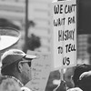 We Can't Wait For History To Tell Us (bamoffitteventphotos) Tags: ifttt instagram wethepeople blackandwhitephotography man olderman impeachment taxmarchsandiego signofresistance signsofresistance protestsigns protestsign california usa southerncalifornia downtownsandiego harbordrive protestor resist resister theresistance persist persistence protest