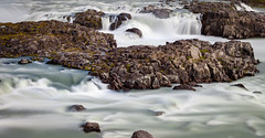 Urriðafoss V (Jack Landau) Tags: urriðafoss urridafoss iceland waterfall water fall foss rapids long exposure rocks mist jack landau