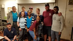 Neptune Society - Detroit, MI - Volunteers Serve Dinner to the Homeless at the Detroit Rescue Mission