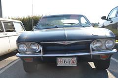 Classic Cars Corvair Club Hoyt's Restaurant Lexington, NC 20170710_4262 (Shane's Flying Disc Show) Tags: classiccars corvairclub davidson nc lexinton unsafeatanyspeed daredevils