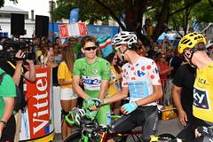 Tour de France 2017 (equipecyclistefdj) Tags: cyclisme tourdefrance2017 2017 competition tdf2017 etape07 departattente fdj leaderpoints astana leadermontagne fairplay france