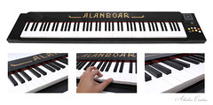 LEGO Piano (Life Size 88 Keys Playable) (alanboar) Tags: piano real playable sound pianist lifesize 88 keys 88keys alanboar