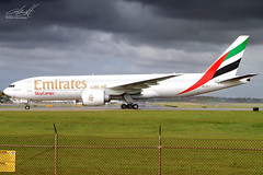 A6-EFJ (SJUAP) Tags: transportation sky clouds airport borinquen aguadilla tjbq bqn puertorico cargojet freightdog cargo freighter aviation aircarft airplane emiratesskycargo emirates b777 boeing boeing777f1h