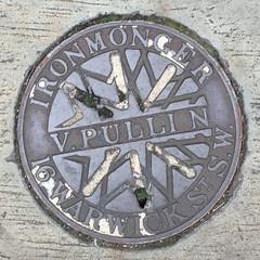 V. PULLIN COALPLATE ST GEORGES DRIVE PIMLICO (xxxxheyjoexxxx) Tags: coalplate coal plate iron shute vintage cover opercula plates coalplates lid lettering foundry london pimlico