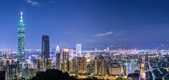 Taipei 101 (啃尼) Tags: nightscene 夜景 象山 xiangshan taipei taiwan taipei101