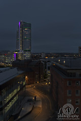 LEEDS FROM THE ROOFS (law-photography2014) Tags: leewardlawphotographybeforeanyuseofmyimagespleasecontactme leeds westyorkshire nightphotography longexposure canon6d canon1740l